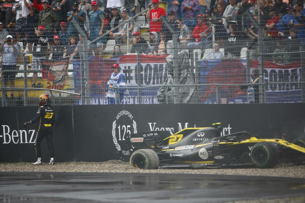 Doch Hockenheim 2019 wird zum Sinnbild seiner Karriere: Wann immer er das Podest vor Augen hat, scheitert er - wie 2012 in Brasilien, als er im Force India sensationell vor dem Sieg steht, bis er mit Lewis Hamilton kollidiert. Seine Zeit in der Formel 1 liegt aktuell ohne Sieg und ohne auch nur ein Podest auf Eis.