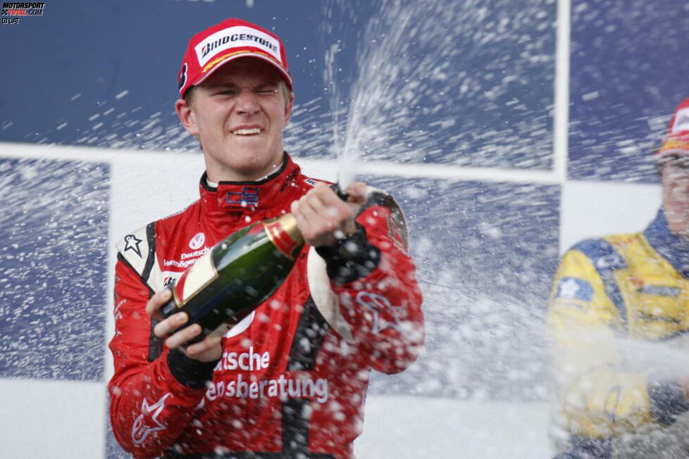 #10 Nico Hülkenberg: Als er 2010 in die Formel 1 einsteigt, gilt der Deutsche als echter Überflieger. Wie ein heißes Messer durch Butter pflügt er als Meister durch die Formel BMW, die A1GP-Serie, die Formel-3-Euroserie und auch auf Anhieb durch die GP2-Serie. In seinem ersten Formel-1-Jahr bei Williams feiert er sogar gleich eine Pole.