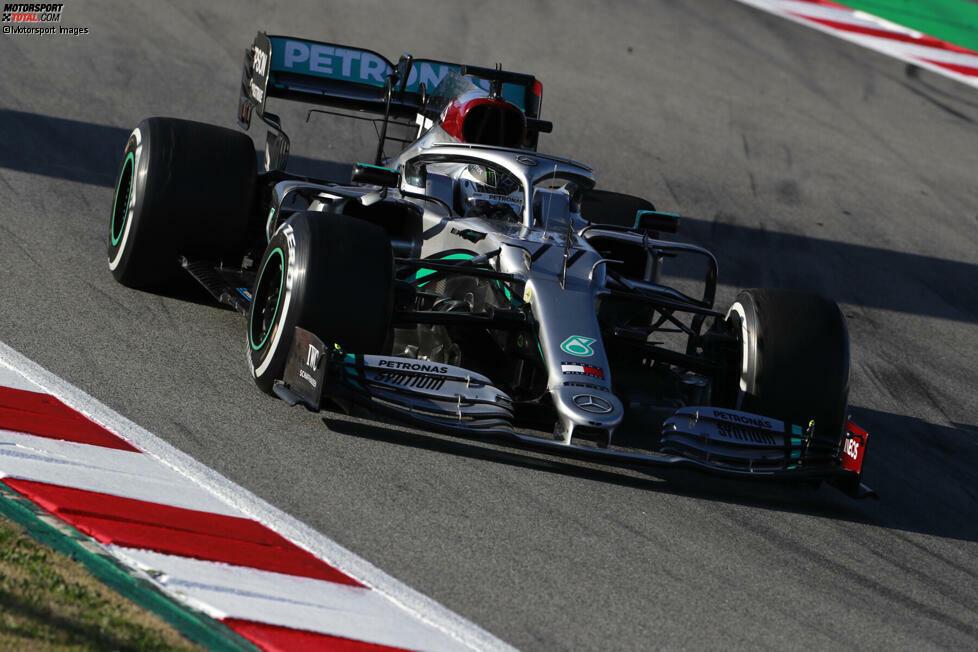 Mercedes 2020: Valtteri Bottas, Lewis Hamilton
