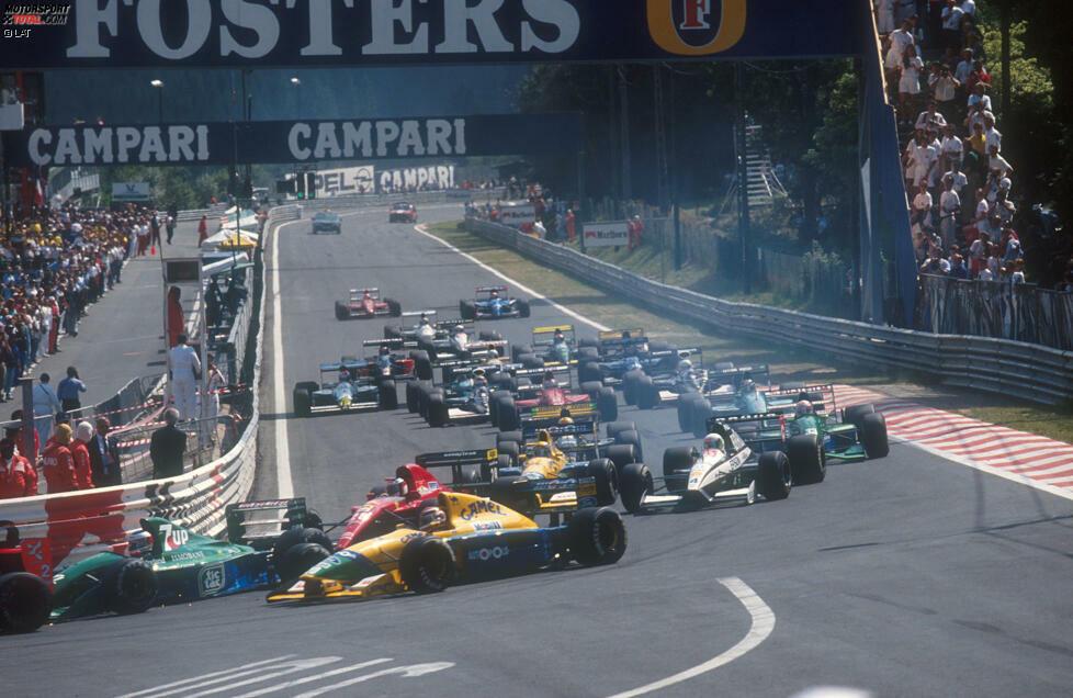 Spa - Michael Schumacher gab sein Formel-1-Debüt 1991 in Spa. Richtig? Strenggenommen nicht! Denn der