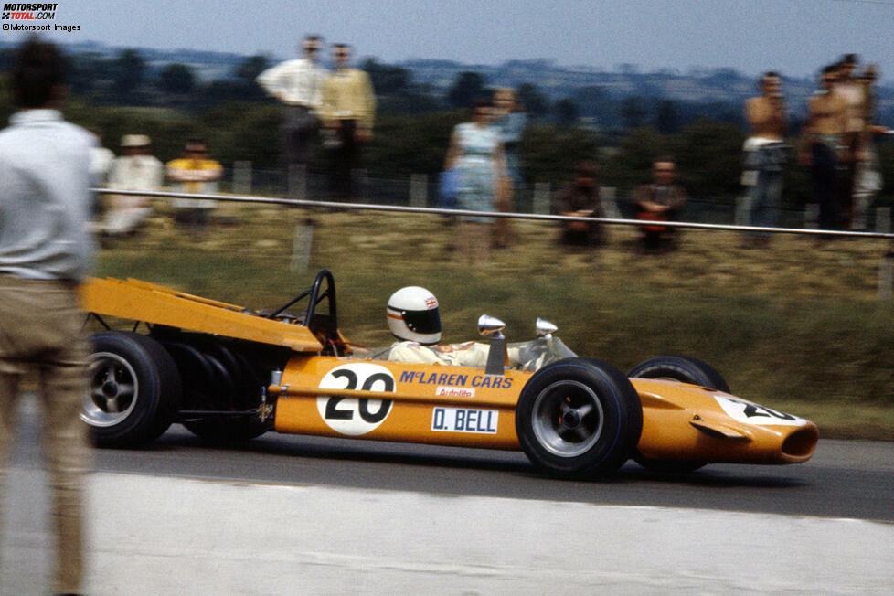Derek Bell: Der Brite ist in der erste Pilot, der (erfolglos) für beide Teams fährt. 1968 geht er bei zwei Rennen für Ferrari an den Start, ein Jahr später einmalig für McLaren. Die Zielflagge sieht er dabei nie. Seine großen Erfolge feiert Bell nicht in der Formel 1 sondern in Le Mans, wo er fünfmal das 24-Stunden-Rennen gewinnt.