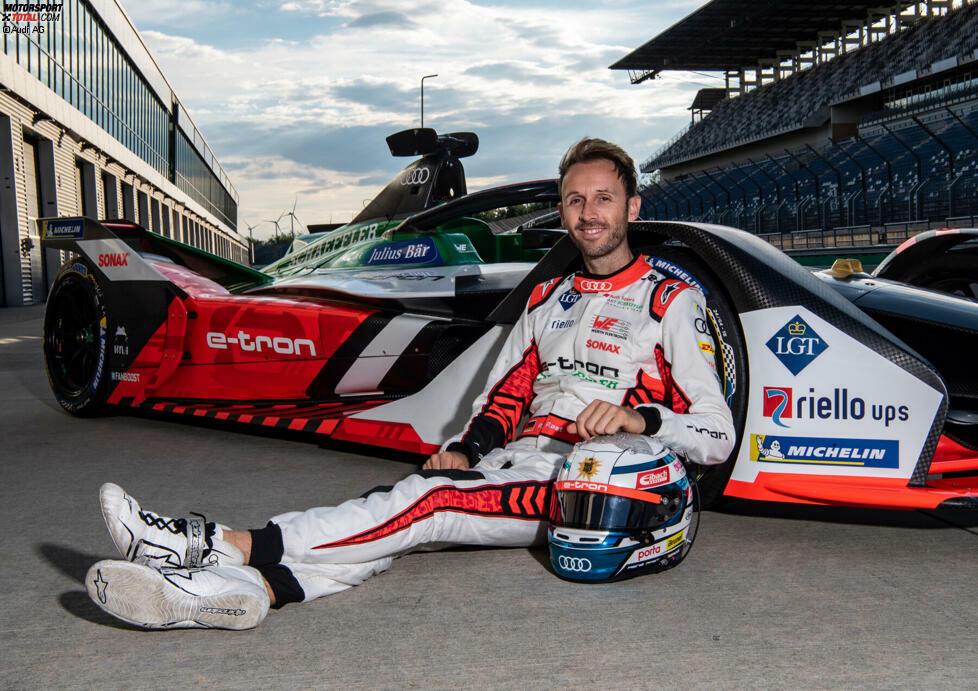 Rene Rast beim Test auf dem Lausitzring