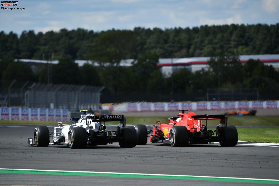 Sebastian Vettel (4): Knapp an der 5 vorbei! Positive Aspekte an seinem Wochenende zu finden, fällt schwer. Zugute halten muss man, dass er im Training unverschuldet kaum zum Fahren kam. Trotzdem darf er sich im Rennen nicht von Pierre Gasly abkochen lassen, wenn der Teamkollege aufs Podium fährt.
