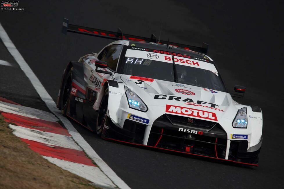 #3 - NDDP Racing with B-Max - Kohei Hirate/Katsumasa Chiyo - Nissan GT-R Nismo GT500 - Michelin
