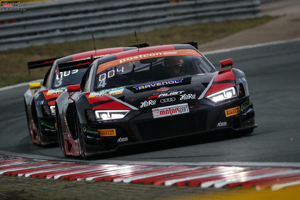 Aust Motorsport, Audi R8 LMS: #3 Maximilian Hackländer/Nikolaj Rogivue; #4 Hendrik von Danwitz/tba