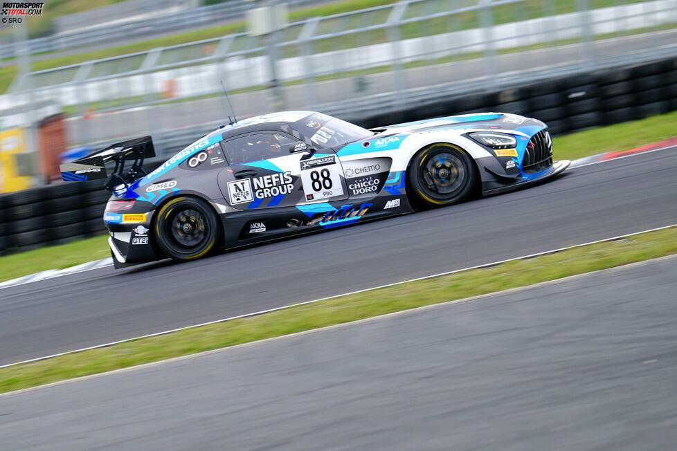 GTWC Europe Gesamt Fahrer Overall: Timur Boguslawski (Mercedes-AMG GT3)