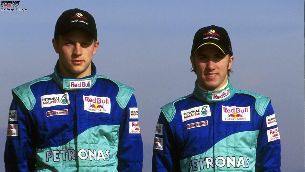 Kimi Räikkönen (Sauber, 2001):
