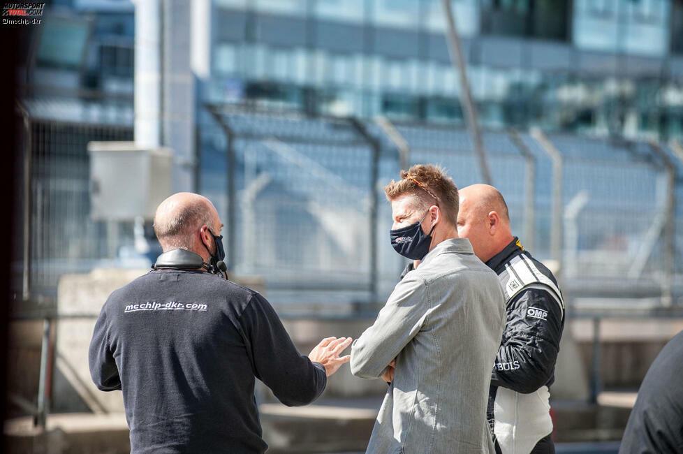 Teameigner Danny Kubasik hat Hülkenberg im April zu einem Duell herausgefordert, auf das er aber verzichtete