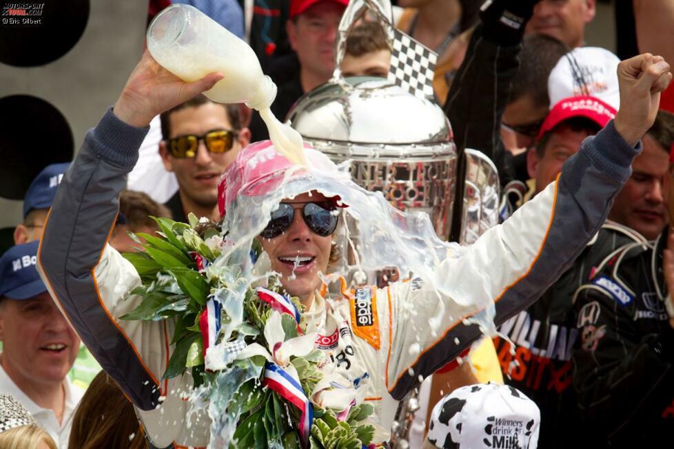 #9 - 2011: In der letzten Runde liegt Rookie J.R. Hildebrand in Führung. Doch auf dem Weg zu seinem ersten IndyCar-Sieg überhaupt crasht der Youngster in der letzten Kurve. Dan Wheldon staubt ab und gewinnt das Indy 500 zum zweiten Mal nach 2005. Wenige Monate später ist er tot. Hildebrand wartet bis heute auf einen IndyCar-Sieg.