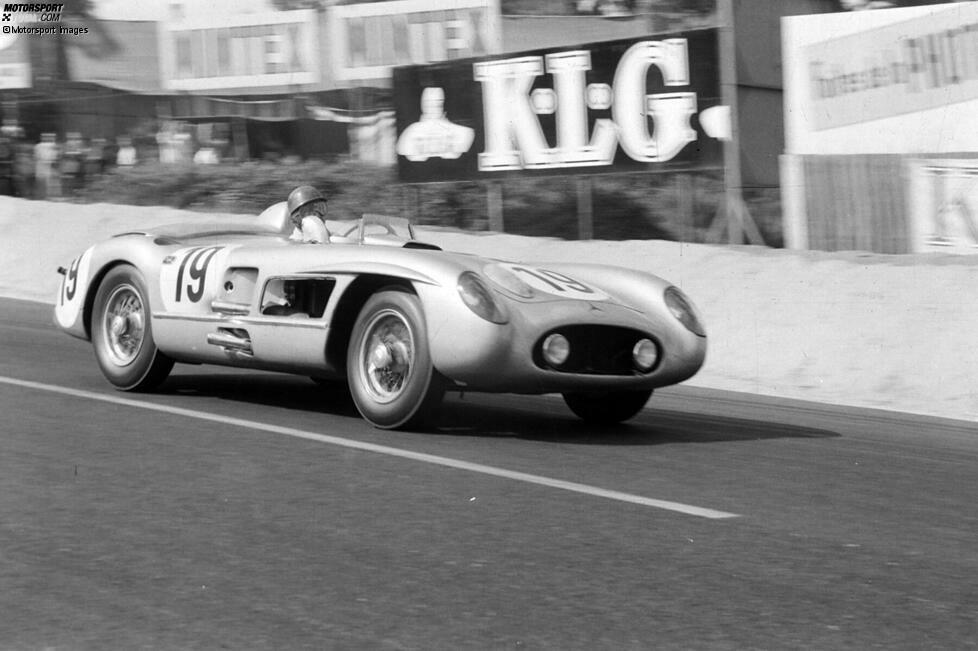 Platz 8: Juan Manuel Fangio; 4 Starts, DNF in allen vier Versuchen