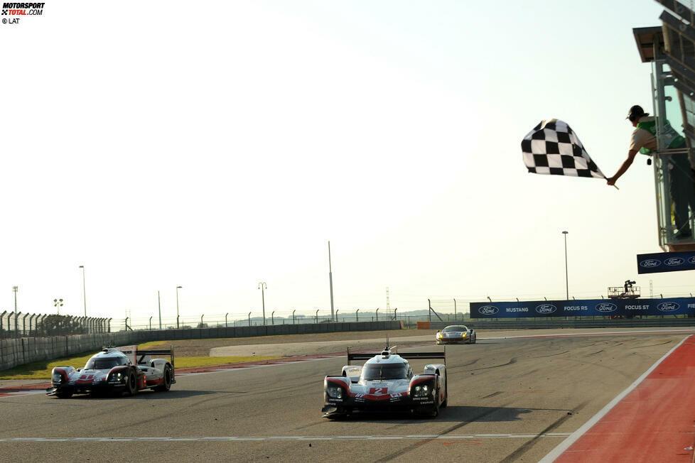 0,276: Den engsten Zieleinlauf aller Zeiten in der WEC seit 2012 in der LMP1 produzierte Porsche bei den 6 Stunden von Austin 2017 mit einem Abstand von 0,276 Sekunden. Das Finish war allerdings künstlich