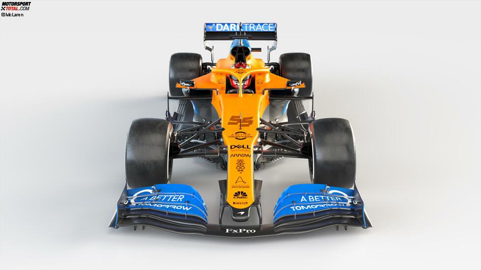 Schon das vordere Ende des Fahrzeugs macht Lust auf mehr: Das Designteam hat einen starken Fokus auf die Nase und Vorderradaufhängung gelegt. Diese Änderungen stehen im Einklang mit dem gesamten Konzept, an dem vieles neu ist.