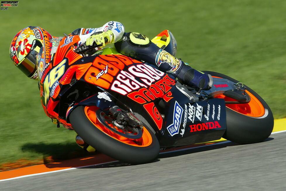 Valencia-Grand-Prix 2003: Valentino Rossi (Honda)