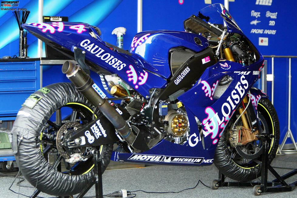 Pazifik-Grand-Prix 2003: Alex Barros (Gauloises Yamaha)
