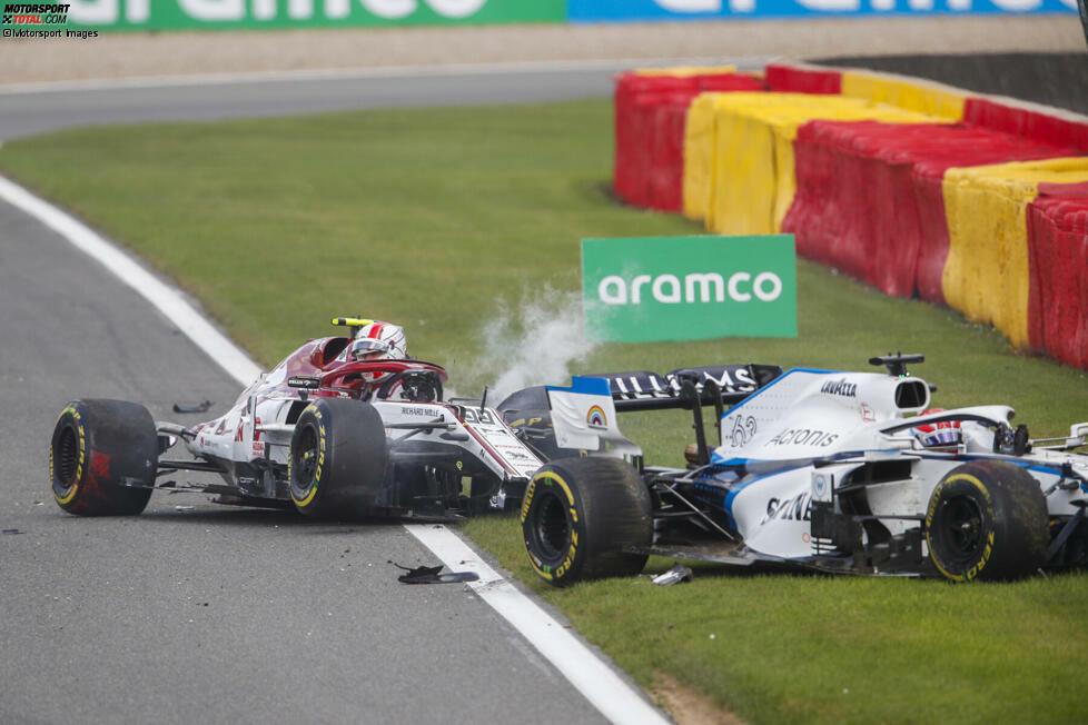 Antonio Giovinazzi (5): Mal wieder ein unnötiger Fahrfehler des Italieners, der schon 2019 das Rennen in Belgien mit einem Unfall weggeworfen hatte. Aufgrund der guten Ergebnisse von Mick Schumacher, Robert Schwarzman & Co. steht er unter Druck, da ist so ein Crash nicht hilfreich. Hinzu kommt ein unbefriedigendes Qualifying.