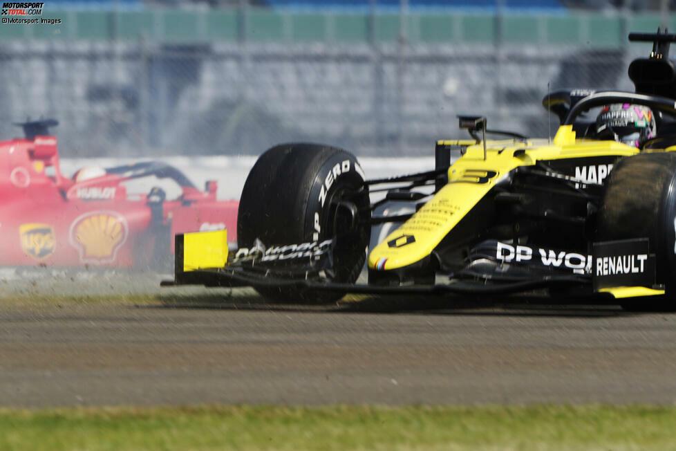 Daniel Ricciardo (4): Wenn wir Vettel für seinen Dreher abstrafen, müssen wir das natürlich auch bei seinem ehemaligen Teamkollegen tun. Der Unterschied: Im Gegensatz zu Vettel hat Ricciardo seinen Teamkollegen eigentlich im Griff. Dazu im Qualifying wieder starker Fünfter. Hilft aber natürlich alles nichts, wenn man es im Rennen wegwirft