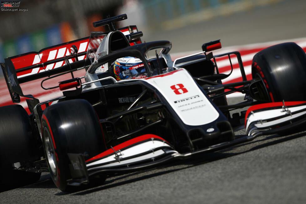 Romain Grosjean (5): Am Freitag noch der Überraschungsmann, doch das starke Training rettet ihn nicht. Ab Samstag lief gar nichts mehr zusammen. Nicht nur seine Schuld, auch Haas tappt im Dunkeln. Doch mehrere Zwischenfälle im Rennen und der letzte Platz mit zwei Runden Rückstand sprechen eine deutliche Sprache.