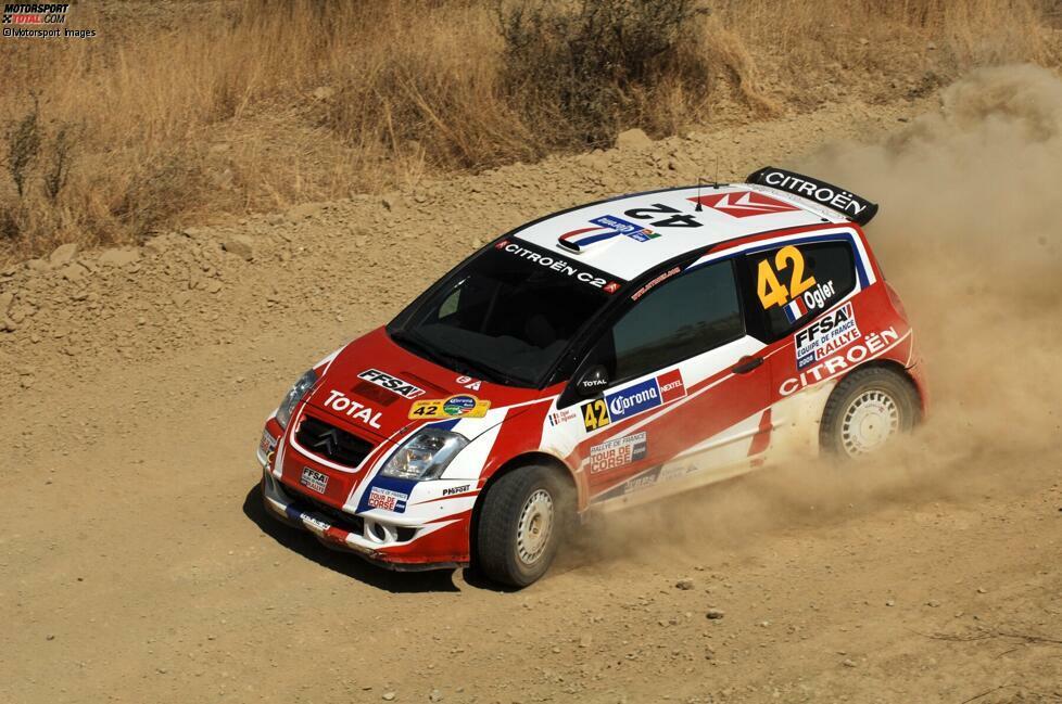 Nach Erfolgen in Frankreich steigt Ogier 2008 mit Unterstützung des nationalen Verbands mit einem Citroen C2 S1600 in der Junior-WM ein - und setzt gleich ein Ausrufezeichen. Bei seinem ersten Start fährt er bei der Rallye Mexiko auf Gesamtrang acht und gewinnt die Junior-Klasse.