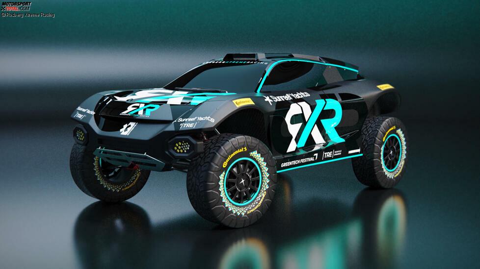Das Fahrzeugdesign von Rosberg Xtreme Racing.