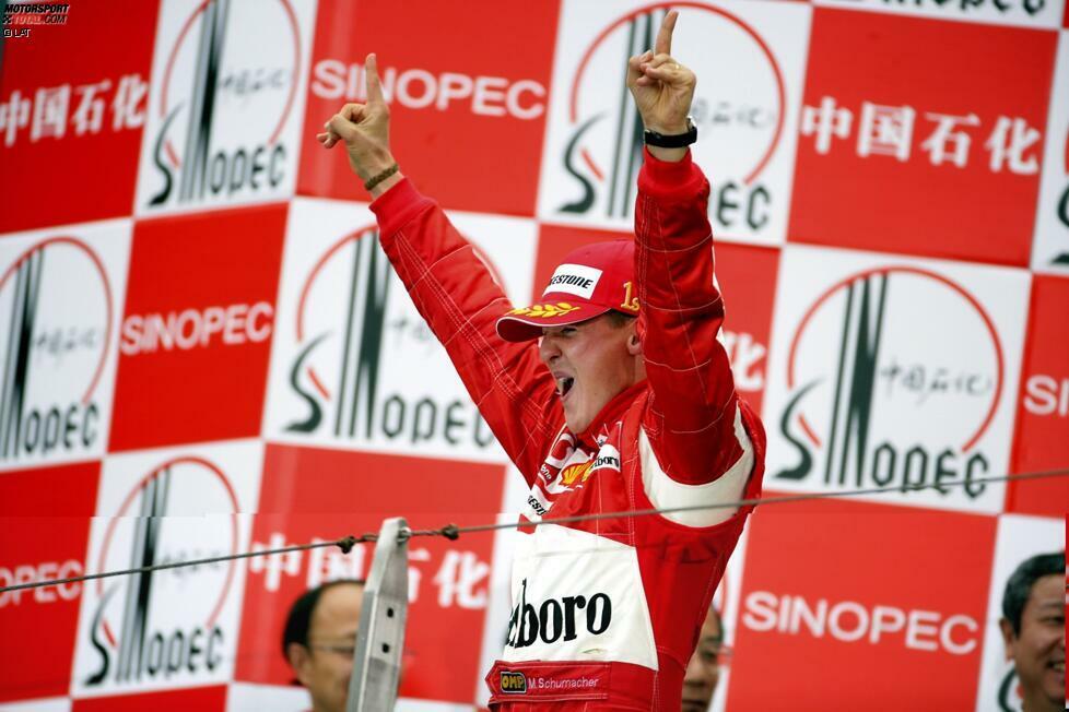 Rennsiege (Michael Schumacher - 91): Lewis Hamilton steht aktuell bei 84 Triumphen. Bei sieben Saisonsiegen in 2020 könnte er mit