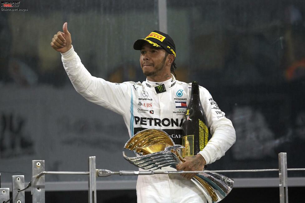 Rennen in Folge in den Punkten (Lewis Hamilton - 33): Eine der am leichtesten zu knackenden Bestmarken, denn Hamilton steht bereits bei 33 Rennen in Serie! Seit Silverstone 2018 war er immer in den Punkten. Beendet er auch den Saisonauftakt 2020 in den Top 10, würde er den Bestwert auf 34 nach oben schrauben. Machbar.