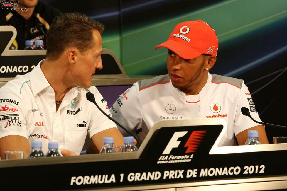 Lewis Hamilton zu Mercedes (2013): Einen Wechsel von McLaren zu Mercedes würde heute wohl niemand mehr als