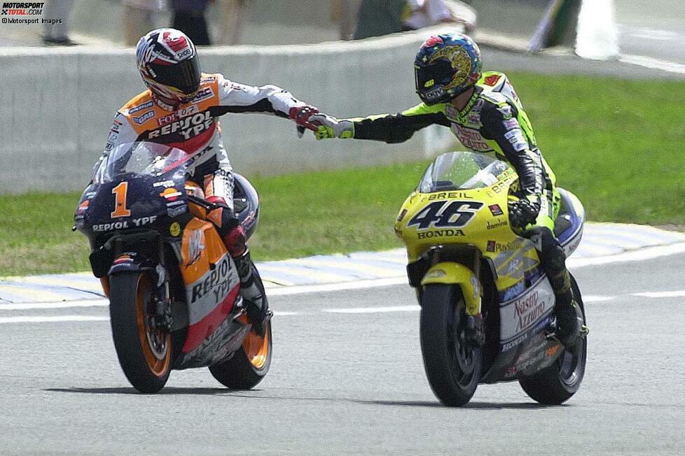 Alex Criville: Der 500er-Weltmeister von 1999 fuhr in den Jahren 2000 und 2001 mit Rossi, bevor er seinen Rücktritt bekanntgab.