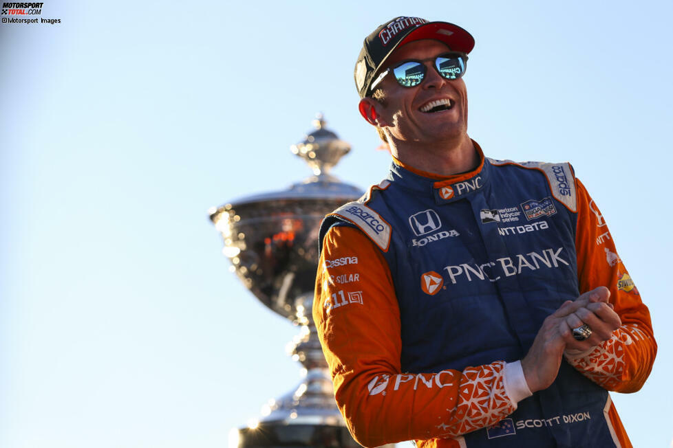 Stand Oktober 2020 rangiert Scott Dixon in der Historie der IndyCar-Serie mit sechs Titeln an zweiter Stelle und mit 50 Siegen an dritter Stelle. Die wichtigsten Karrieremomente des Neuseeländers im Überblick: