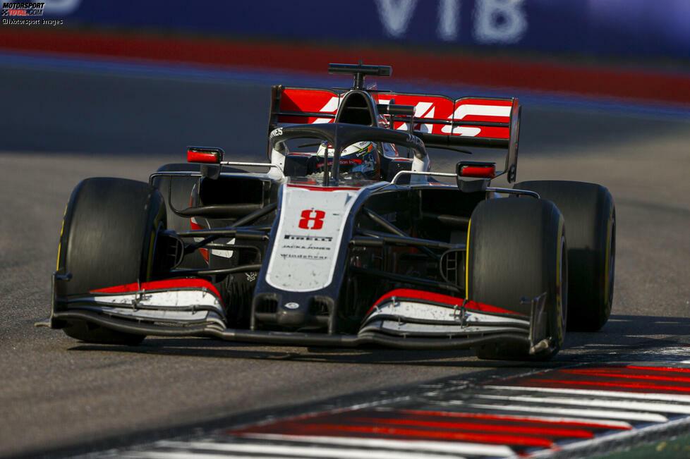 Romain Grosjean (5): Sportlich wäre eine 4 vielleicht noch vertretbar gewesen, weil er Magnussen im Qualifying geschlagen hat. Im Rennen dann aber Vorletzter und vor allem nervt seine kein bisschen konstruktive Motzerei am Funk langsam. Damit tut er dem Team keinen Gefallen - und sich selbst übrigens auch nicht.