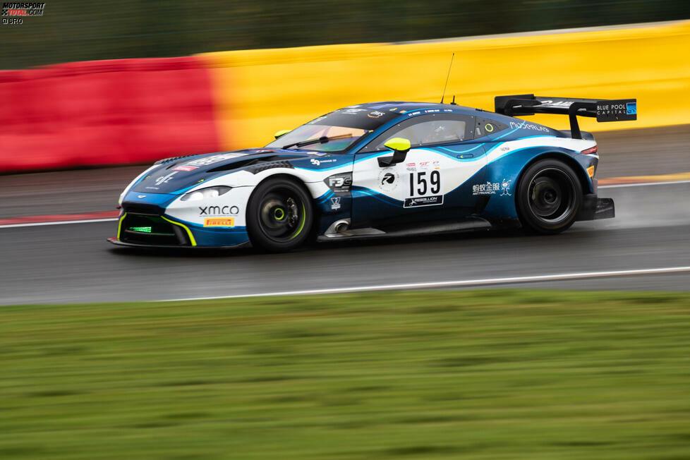 Aston Martin Vantage AMR GT3, 2 Fahrzeuge (1x Silver, 1x Pro-Am): Schon 1948 konnte Aston Martin die 24 Stunden von Spa gewinnen. 2020 wird die britische Marke durch Garage 59 vertreten sein, aber nicht für den Gesamtsieg in Frage kommen.