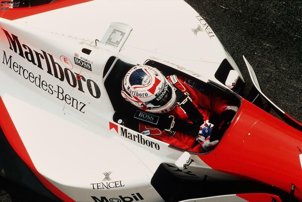 Das wird allerdings zum Debakel. Zunächst passt Mansell nicht ins Auto, weshalb er die ersten beiden Rennen auslassen muss. Es folgen lediglich zwei Einsätze in Imola und Barcelona, bevor er das Team nach harscher Kritik am Auto wieder verlässt. Mit dem kurzen Gastspiel endet auch seine Karriere in der Formel 1 endgültig.