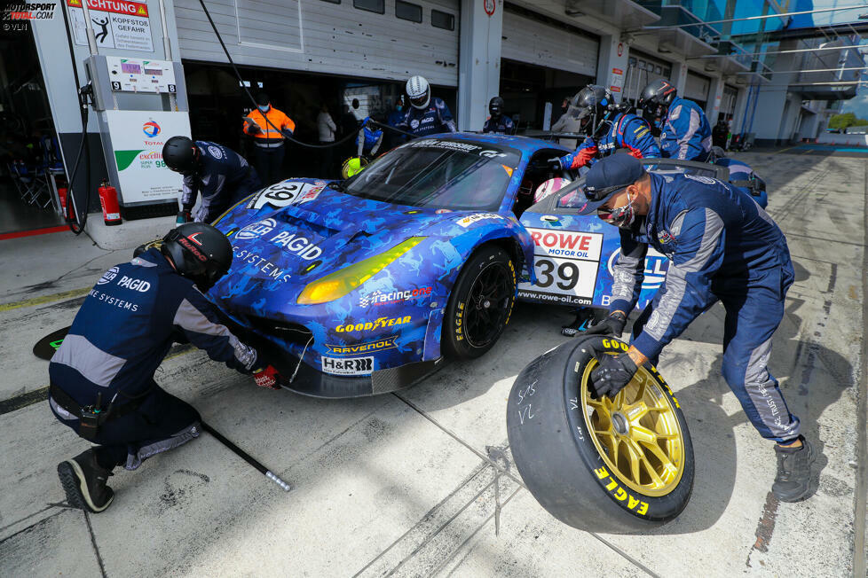 SP9 Am: racing one (Ferrari 488 GT3) - 133 Punkte