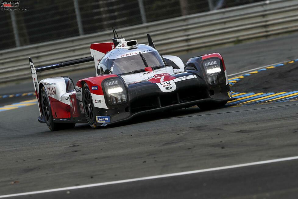 LMP1-Fahrerweltmeisterschaft, P1: Mike Conway/Kamui Kobayashi/Jose-Maria Lopez (Toyota TS050 Hybrid) - 207 Punkte