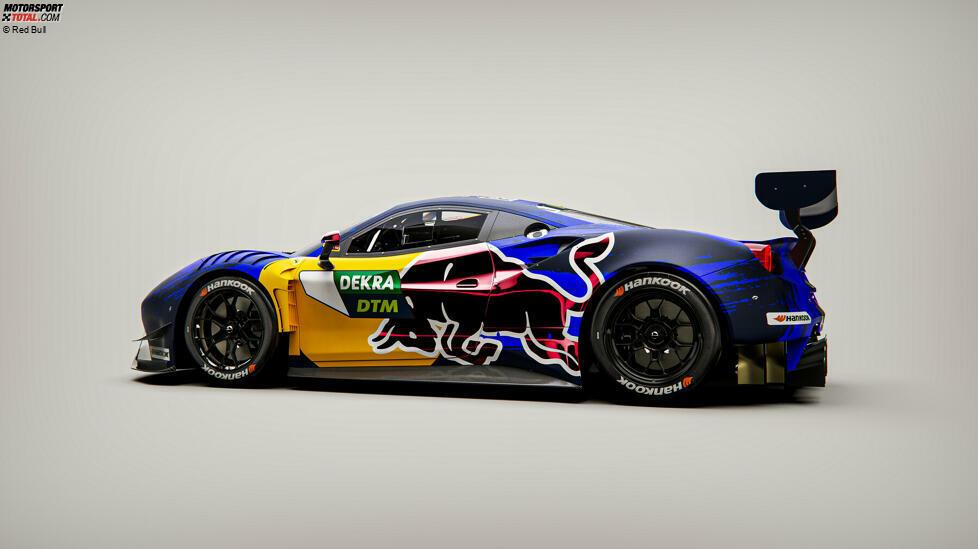 Red Bull Ferrari 488 GT3 Evo 2020