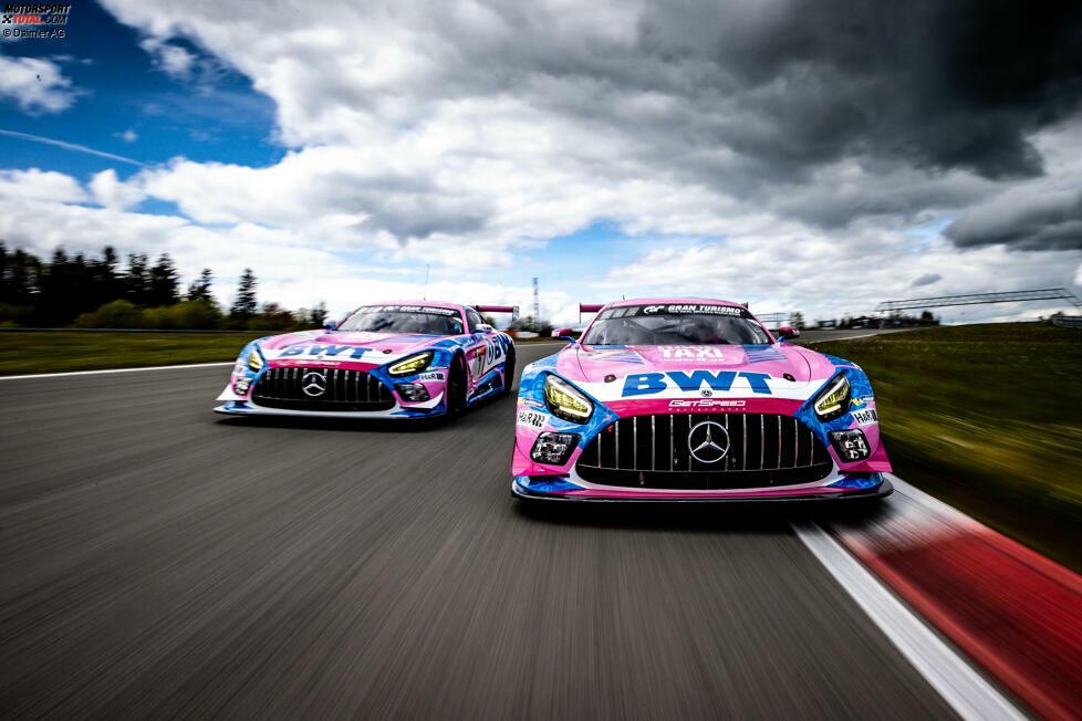 GetSpeed-Mercedes #7 (SP 9 Pro) - qualifiziert für Q2