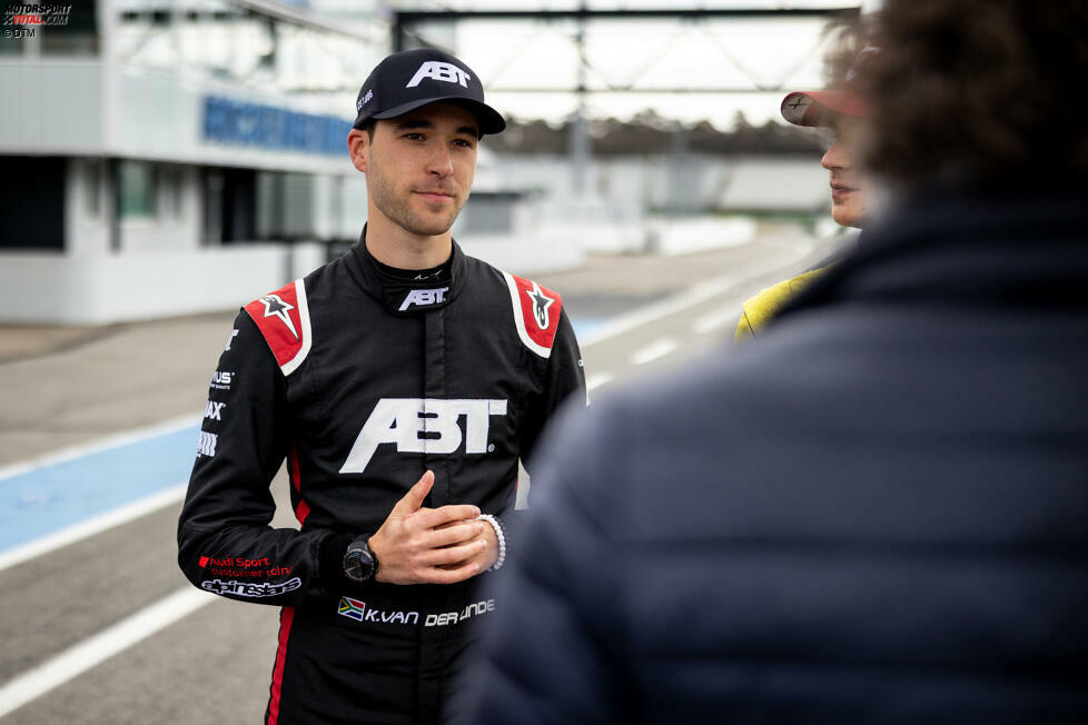#3 Kelvin van der Linde (RSA) Team Abt Sportsline - Audi R8 LMS