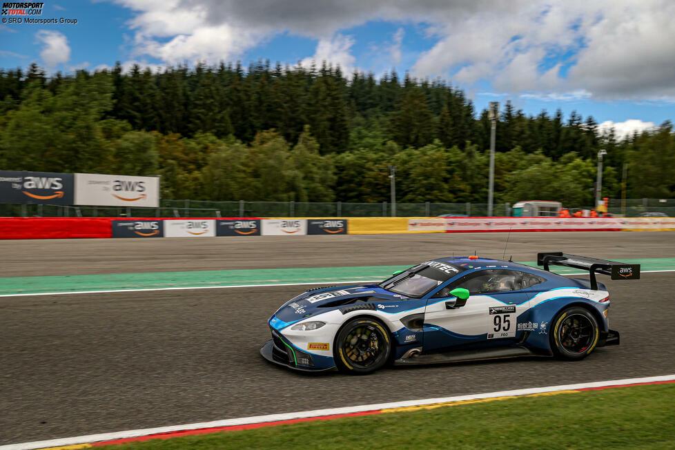 2:18.654: Die schnellste Runde im Rennen, gefahren von Nicki Thiim im Aston Martin Vantage AMR GT3 des Teams Garage 59. Im Rennergebnis schloss Thiim zusammen mit seinen Kollegen Ross Gunn und Marco Sörensen auf dem dritten Platz ab.