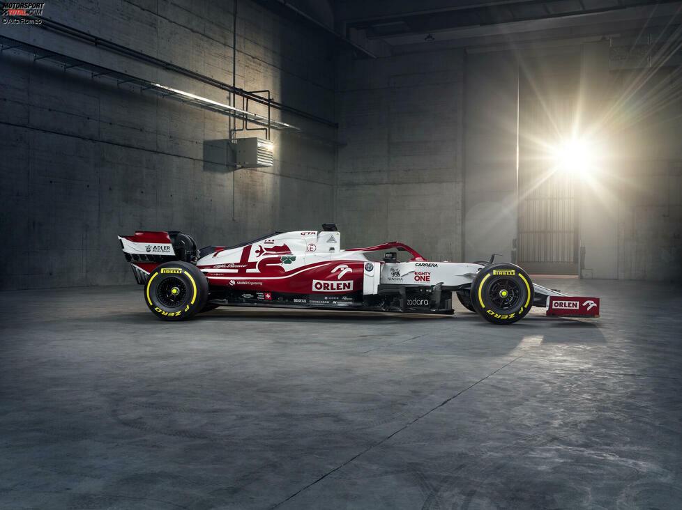 Eines vorneweg: Das Auto hört deshalb auf die Bezeichnung C41, weil das neue Formel-1-Reglement von 2021 auf 2022 verschoben wurde - und die Entwicklung für 2021 war bereits angelaufen mit dem Projekt C40. Eben dieser C40 rutscht also raus aus der Chronologie und kommt erst 2022!