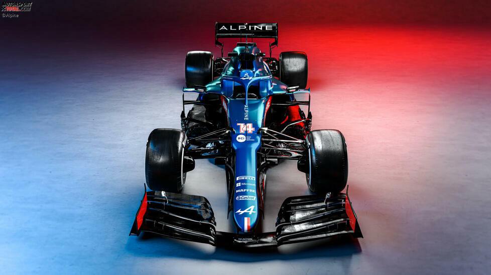 Der neue Alpine A521 ist da! Hier die ersten Fotos des neuen Formel-1-Autos von Fernando Alonso und Esteban Ocon ansehen - und mehr über den 2021er-Rennwagen erfahren!