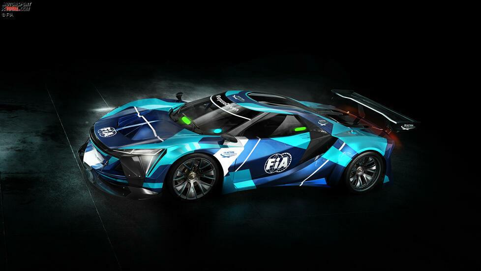 Elektro-GT-Konzept der FIA
