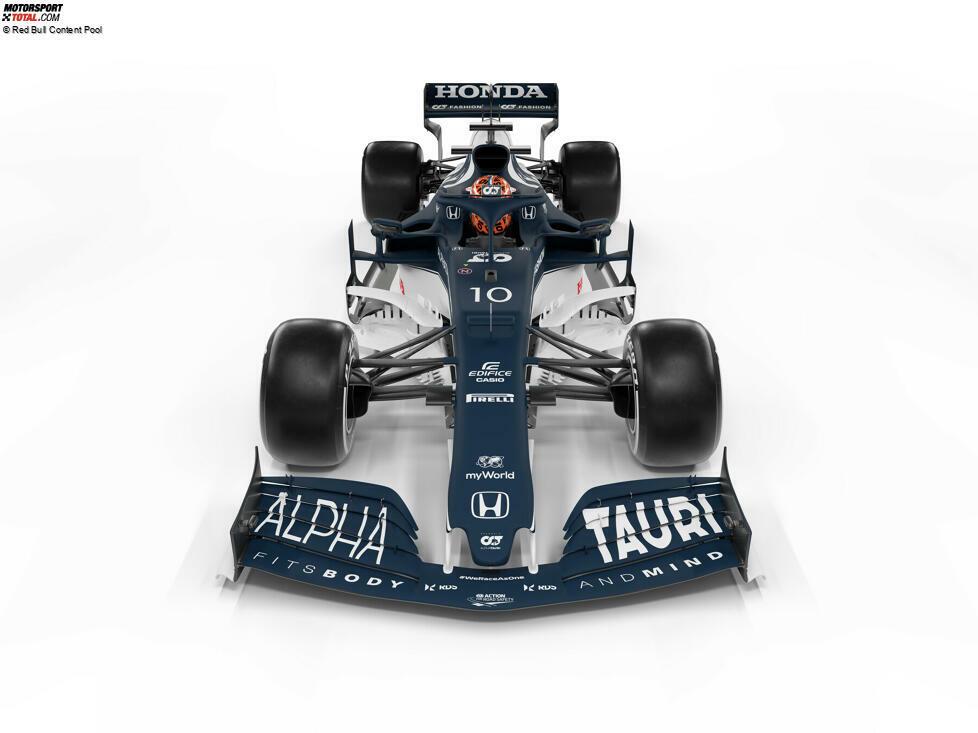 AlphaTauri hat sein zweites Formel-1-Auto unter seiner neuen Teambezeichnung vorgestellt: Der AT02-Honda wurde am 19. Februar 2021 erstmals gezeigt. Hier sind die Bilder des Fahrzeugs und erste Details dazu!