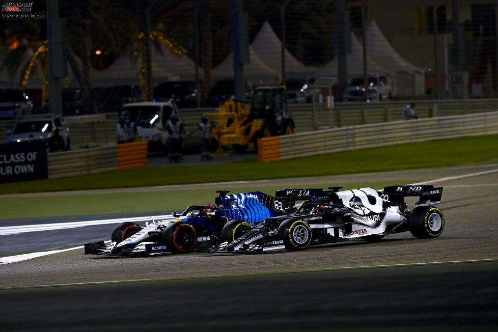 1. Yuki Tsunoda (AlphaTauri): Platz neun beim Großen Preis von Bahrain 2021 in Sachir