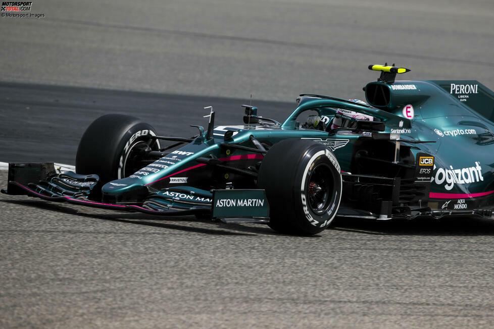 Das neue Arbeitsgerät von Sebastian Vettel: Beim Testauftakt in Bahrain hat der viermalige Formel-1-Weltmeister erstmals den neuen Aston Martin AMR21 bewegt. Hier sind die schönsten Bilder dieser Fahrpremiere!