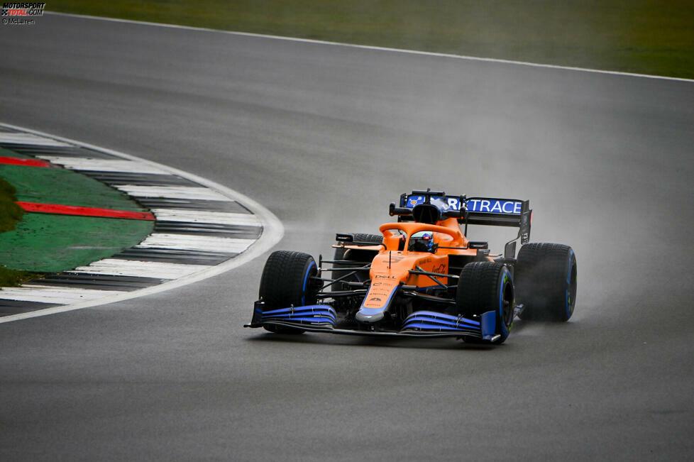 McLaren absolvierte in Silverstone als erstes Team den Shakedown seines 2021er-Autos