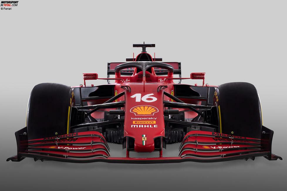 Hier ist der Ferrari SF21 für die Formel-1-Saison 2021! Mit diesem Auto soll Charles Leclerc und Carlos Sainz die Trendwende gelingen. Und Ferrari hat ...