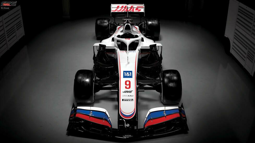 US-Team Haas hat sein Farbdesign für die Formel-1-Saison 2021 vorgestellt. Das Auto von Mick Schumacher und Nikita Masepin läuft im Russland-Look auf, passend zum neuen Titelsponsor Uralkali! Hier die weiteren Bilder ...