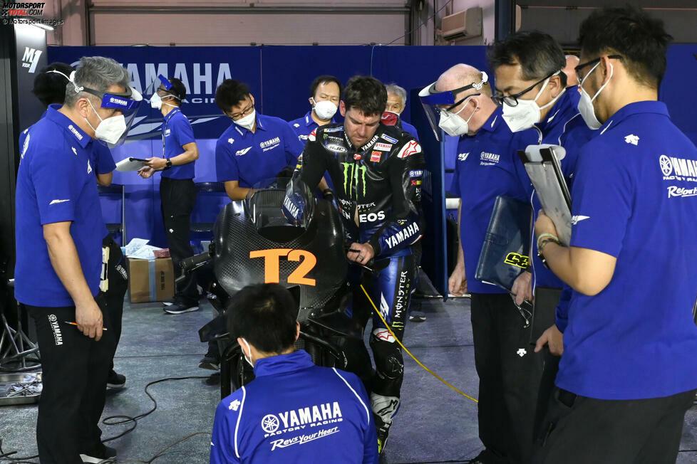 Die Motorentwicklung ist zwar eingefroren, aber die MotoGP-Ingenieure arbeiten in den Bereichen Chassis, Schwinge und Aerodynamik auf Hochtouren. Wir blicken auf die technischen Details beim Test in Katar.