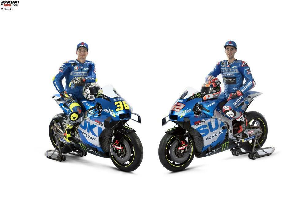 Team Suzuki Ecstar: Joan Mir #36, Alex Rins #42