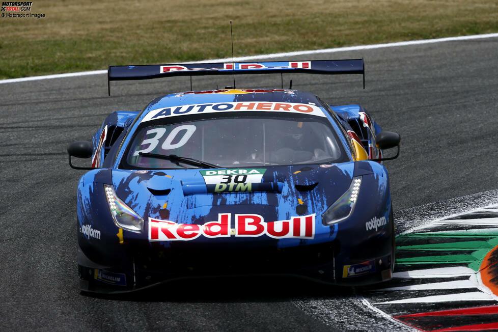Bei der GT3-Premiere der DTM in Monza gelingt dem erst 19-jährigen Red-Bull-Junior Liam Lawson die Sensation: Der neuseeländische Teamkollege von Alex Albon setzt sich im AF-Corse-Ferrari durch und holt im ersten DTM-Rennen den Sieg. Er ist der achte DTM-Pilot, der das schafft. Der erste DTM-Premierensieger ist ...