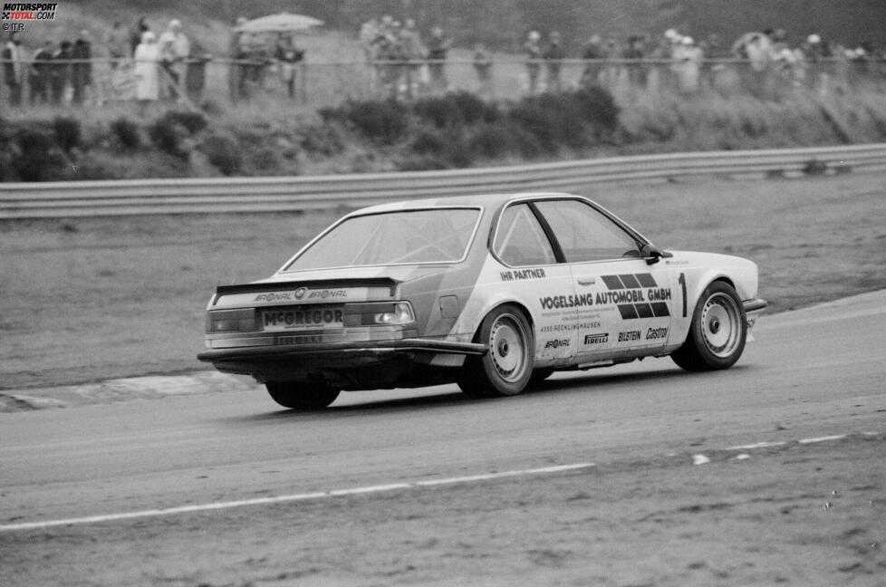 ... Harald Grohs 1984 in Zolder. Dass